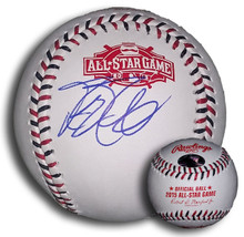 Mike Moustakas Autographed 2015 All Star Game Baseball Royals