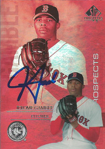 Jerome Gamble Autographed Boston Red Sox 2004 Upper Deck SP Card