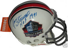 Jan Stenerud Signed Hall of Fame Mini Helmet Chiefs