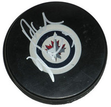 Dustin Byfuglien Signed Winnipeg Jets Hockey Puck