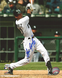 Alexei Ramirez Autographed Chicago White Sox 8x10 Photo