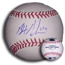 Brett Anderson Autographed MLB Baseball Oakland A's