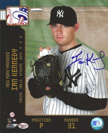 Ian Kennedy Autographed New York Yankees 8x10 Photo