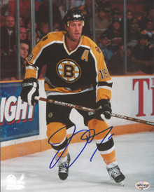 Joe Thornton Autographed Boston Bruins Home 8x10 Photo