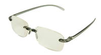 SOHO Memory Flex Reading Glasses in Light Brown