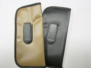 Black and Brown Clip Cases