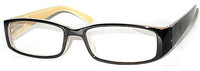 Spring Hinged High Fashion Reading Glasses in Two Colors