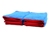 "Car Care Shoppe Plush Microfiber Polishing Towel 16""x24"" (10-pack) - carcareshoppe.com"