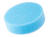 "3"" Lake Country Low Profile Hydrotech Cyan Heavy Polishing Pad - carcareshoppe.com"