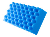 Optimum Waffle Wash Sponge - Blue - carcareshoppe.com