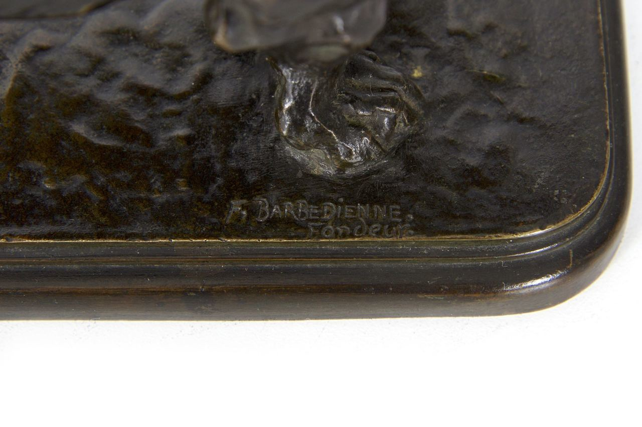 Barbedienne Foundry Mark on Barye Bronze