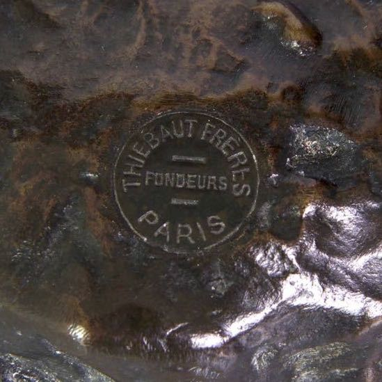 Thiebaut Freres Cachet Foundry Seal Mark