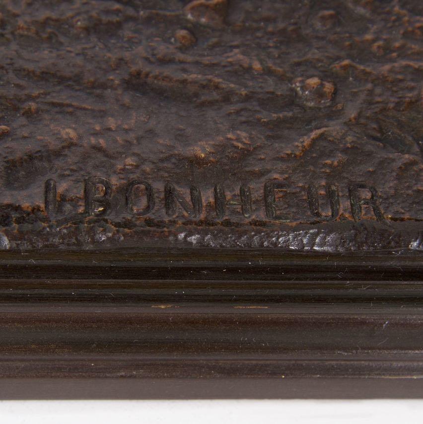 Authentic Signature of Isidore Bonheur