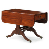 American Classical Mahogany Breakfast Table, New York c. 1820