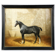 Jonny Audy (French, 19th Century) Equestrian Painting