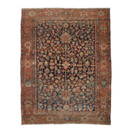 Fine Antique Room Size Heriz Rug c. 1900