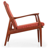 Andersen & Pedersen for Hornaes Danish Sculpted Teak Arm Chair