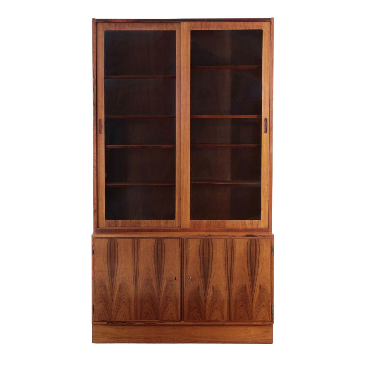 Danish Mid Century Rosewood Bookcase By Poul Hundevad