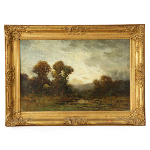 Edward Loyal Field (American, 1856-1914) Tonalist Landscape