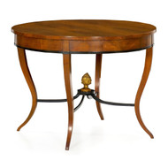 Austrian Biedermeier Fruitwood Center Table circa 1825