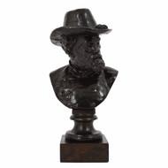 """Bust of Robert E. Lee""   Moses Jacob Ezekiel (American, 1844-1917)"