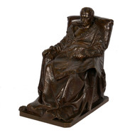 """Last Days Of Napoleon"", bronze sculpture 