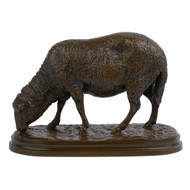Though she only produced a limited variety of sculpture models in her lifetime, Rosa Bonheur's sheep are some of the most cherished.