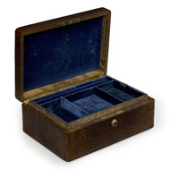 Bramah for Tiffany & Co. Snake Skin and Velvet Jewelry Box
