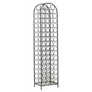 Arthur Umanoff Wrought Iron 67-Bottle Wine Rack, circa 1960s