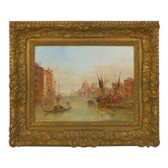 """""""The Grand Canal, Venice"""" (1889), oil painting 