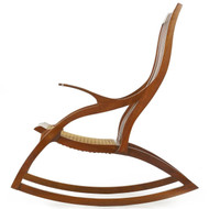 American Studio Cherrywood Rocking Chair w/ Dovetailed Frame