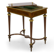 French Marquetry and Gilt Bronze Wine Table | Paul Sormani