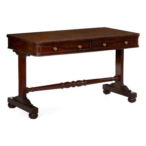Regency Mahogany and Leather Writing Table | England, circa 1830