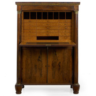 William IV Rosewood Secretaire à Abattant | England, circa 1835