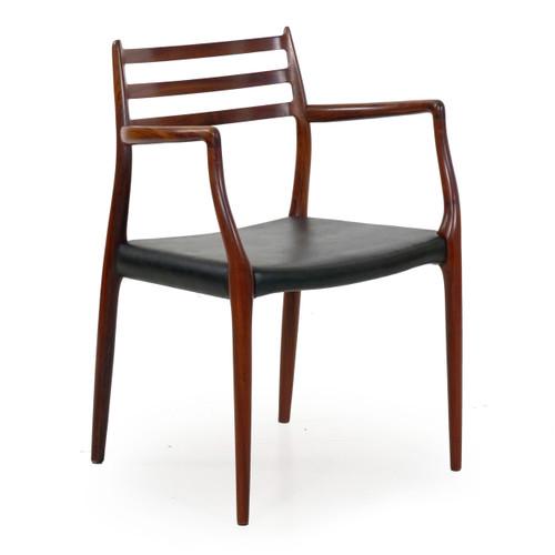 Model No. 62 Rosewood Arm Chair | Niels Møller, 1962