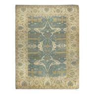 Room Size Caucasian Oushak Style Turkish Rug | 12.5' x 14'