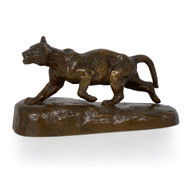 """Lion Cub"", bronze sculpture | Isidore Bonheur"