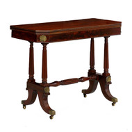 Regency Mahogany Card Table | England, circa 1815