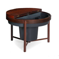 Modern Rosewood Cocktail Accent Table | Denmark, circa 1960s
