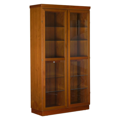 Danish Modern Teak Display Cabinet by Skovby for Kontrol