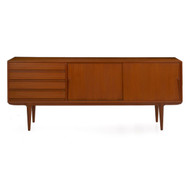 Teak Credenza by Gunni Omann for Omann Jun Mobelfebrik, Model 18 | Demark c. 1961