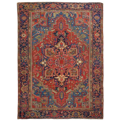 Room Size Antique Heriz Rug | Persia, circa early 20th century