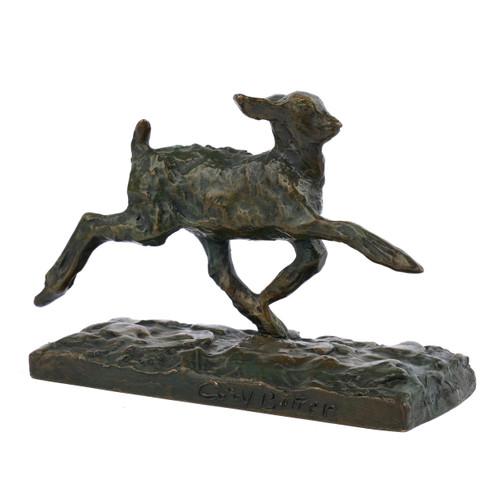 """Chevreau Courant"", bronze sculpture | Ary Bitter"