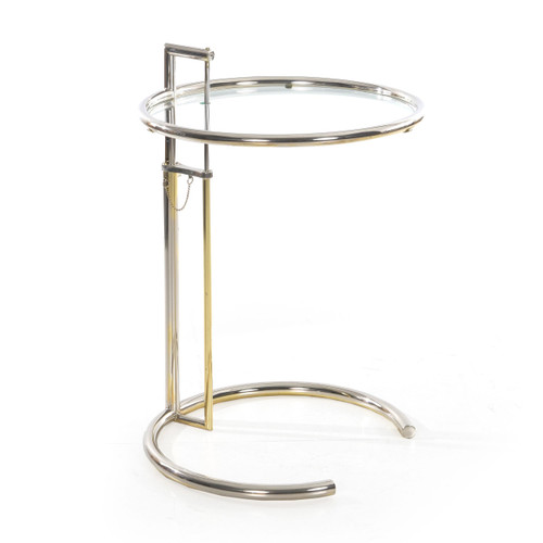 The E 1027 Adjustable Table by Eileen Gray