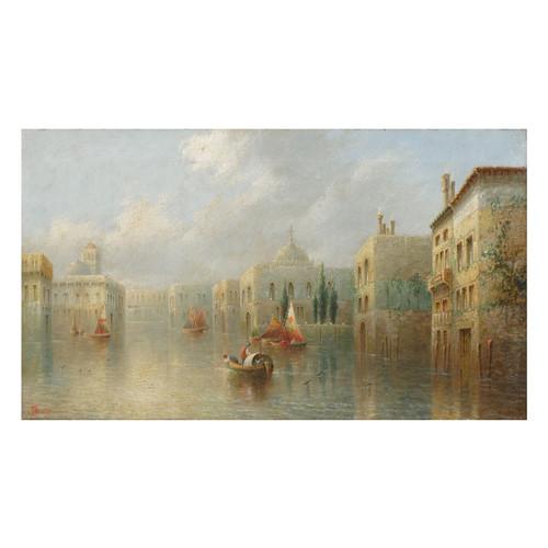 "A fine 19th century ""Venetian Capriccio"" by James Salt (British, 1850-1903)"