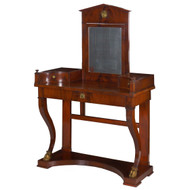 Empire Mahogany Dressing Table | Baltic States, circa 1840