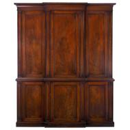 Georgian Mahogany Library Bibliotheque Bookcase | England, circa 1840