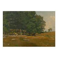 """Summer Landscape"", oil painting   Robert Bruce Crane (American, 1857-1937)"