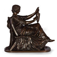 """Etruscan Art"", bronze sculpture 