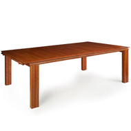 Modern Benchmade Cherry and Maple Dining Table | Circa 1980s